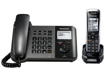 Panasonic KX-TGP550 SIP Corded Handset Base Unit and 1 Cordless Handset