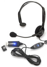 Andrea NC-121M Cost Effective Digital Monaural USB Headset with Volume and Mute Control