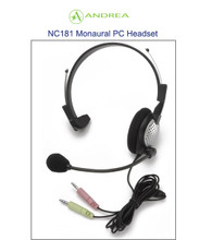 Andrea NC-181 Durable Construction Noise Canceling Monaural Headset