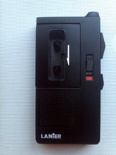 Lanier Handheld Micro Cassette Recorder Dictator