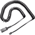 Plantronics 26716-01 U10 Amplifier Coil Cord to QD Modular Plug (for CISCO)