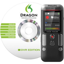 Philips DVT2700 Voice Tracer Digital Recorder with Dragon NaturallySpeaking Software
