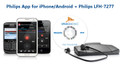 Philips Dictation App for iPhone and Android with Philips LFH-7277 Digital Transcription Kit