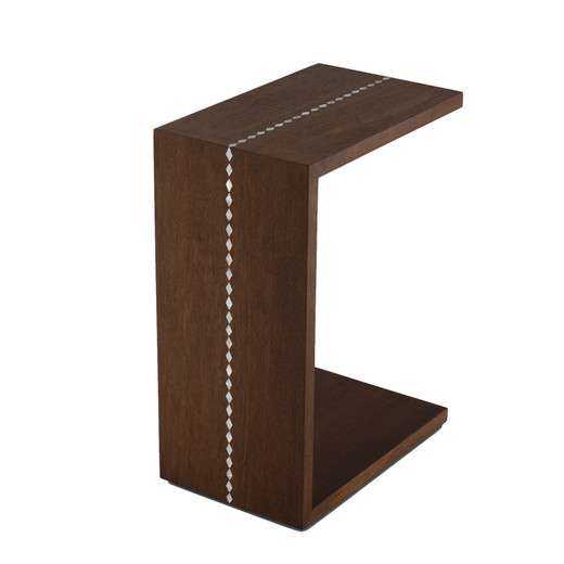 C wood side table mondocollection
