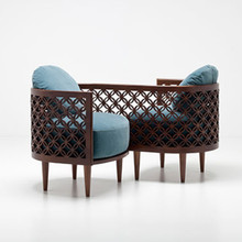 Arabesque Modern Love Seat
