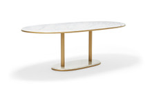 Stay Oval Dining Table