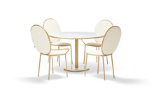 Stay Round Dining Table