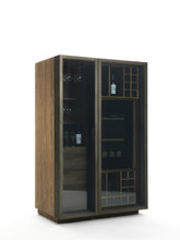Cambusa Glass Wine Cabinet