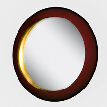 Gold Moon Wall Mirror