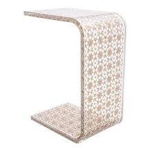 C Resin Side Table