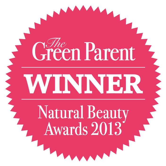Awarded Winner Green Parent Magazine Natural Beauty Award