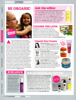 The Green Parent Magazine B Organic Feature