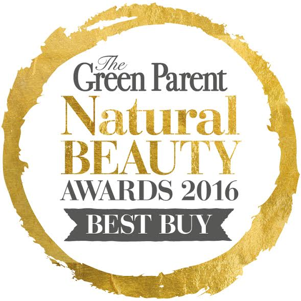 The Green Parent, Natural Beauty Awards Best Buy Gold Award 2016
