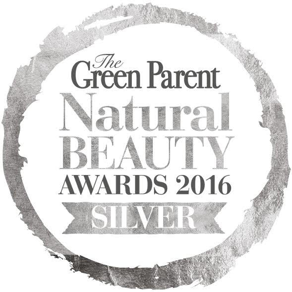 The Green Parent, Natural Beauty Awards Silver Award 2016