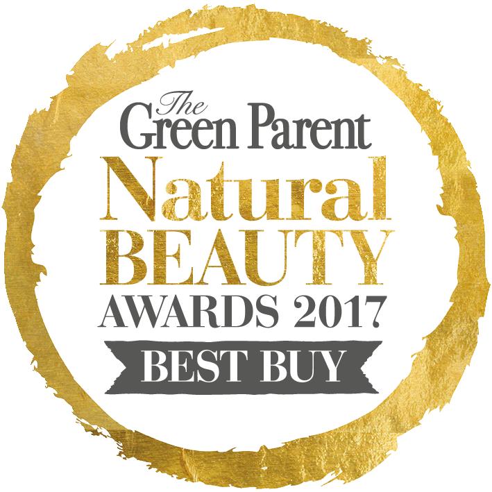 The Green Parent, Natural Beauty Awards Best Buy Gold Award 2017