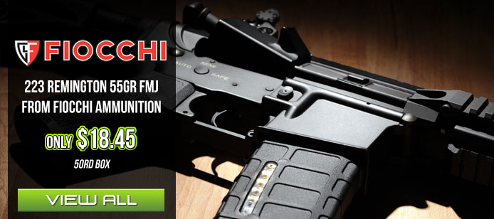 Fiocchi 55gr FMJ Smoking Deal
