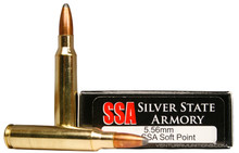 Silver State Armory 5.56mm 63gr Sierra SP - 20rds