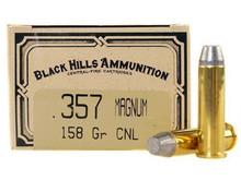 Black Hills 357 Magnum 158gr  CNL Ammo - 50 Rounds
