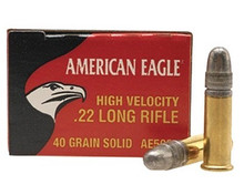 Federal Cartridge 22 Long Rifle  40gr HV -50 Rounds