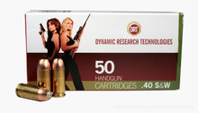 DRT .40 S&W 105gr TerminalShock™ Lead Free Defense Ammo  - 50 Rounds