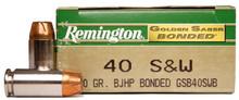 Remington Golden Saber Bonded .40 S&W 180gr BJHP   - 50 Rounds
