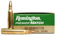 Remington Premier® Match .223 Remington 62gr HP R223R6 - 20 Rounds