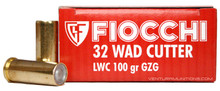 Fiocchi 32 S&W Long 100gr Lead Wadcutter - 50rds