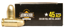 Armscor .45 ACP 230gr FMJ - 50 Rounds
