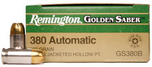 Remington Golden Saber .380 ACP 102gr Ammo - 25 Rounds