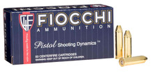 Fiocchi Shooting Dynamics 357 Magnum 142gr FMJ-TC Ammo - 50 Rounds
