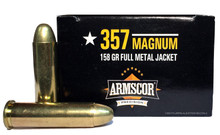 Armscor 357 Magnum 158gr FMJ Ammo - 50 Rounds