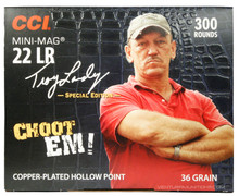 CCI Swamp People 22LR 36gr CPHP Mini-Mag Ammo - 300 Rounds