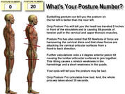 What's Your Posture Number?