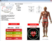 Calculate HWR for heart health