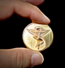 Lucky Chiropractic Coin