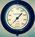 "Pressure Gauge, 4.5"", 0-4000PSI"