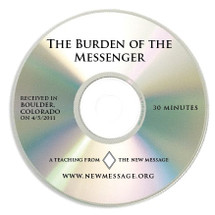 The Burden of the Messenger - CD