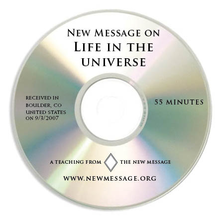 New Message on Life in the Universe - CD