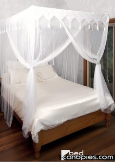 Good Tasseled Bed Canopy