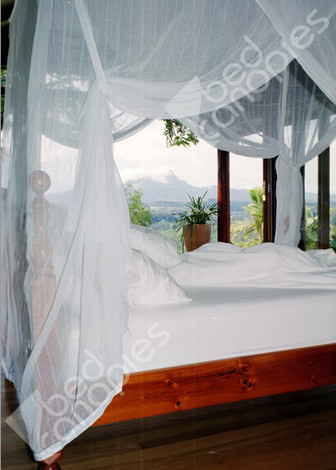 Bed Canopy Cotton Single Twin