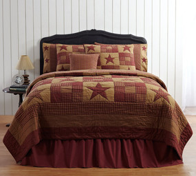 Ninepatch Star Cotton Quilt