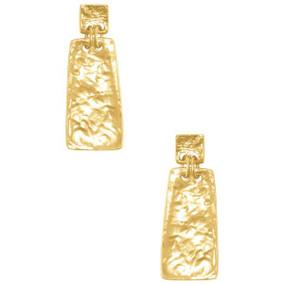Karine Sultan Arya Geometric Drop Earrings