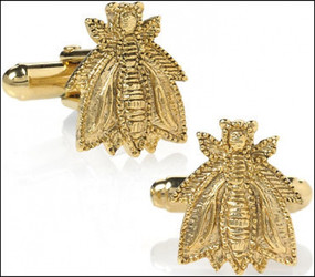 Bee Cufflinks Men's Jewelry