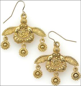 Minoan Bee Earrings