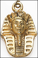 King Tut Pendant with Chain