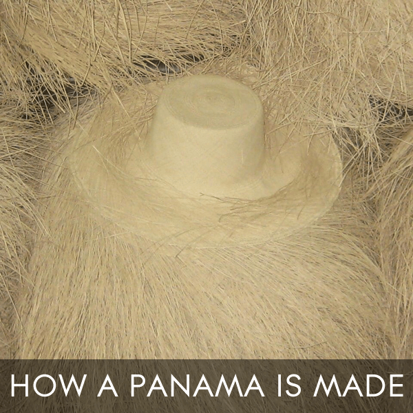 How a panama is made