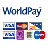Secure online shopping powered by Worldpay