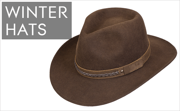 Click here to shop our Winters Hat range