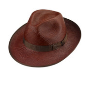 Snap Brim - in Chocolate with Matching band