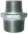Galvanised Reducing Nipple